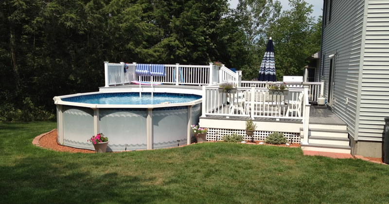 Wood Deck Builder New Haven County CT.